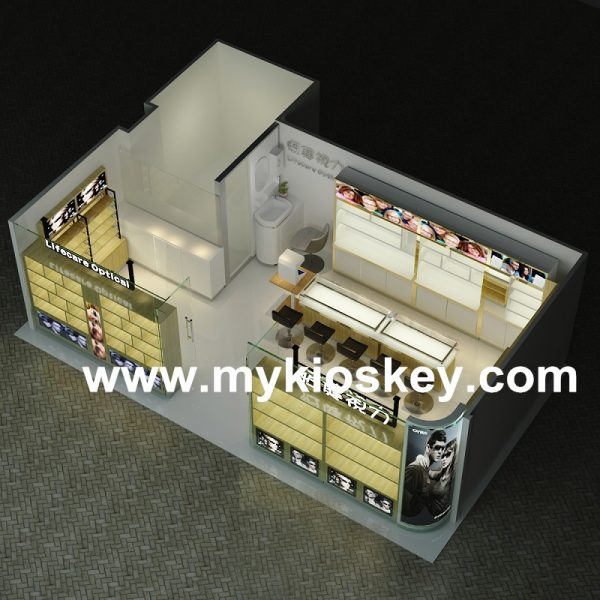 sunglasses shop counter display cabinet
